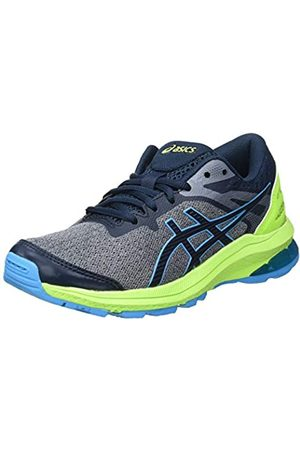 Asics GT-1000 10 GS Road Running Shoe, French Blue/Digital Aqua