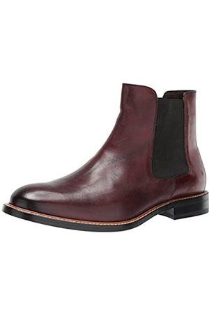 Bacco Bucci Herren Koke Chelsea Stiefel, Rot (burgunderfarben)