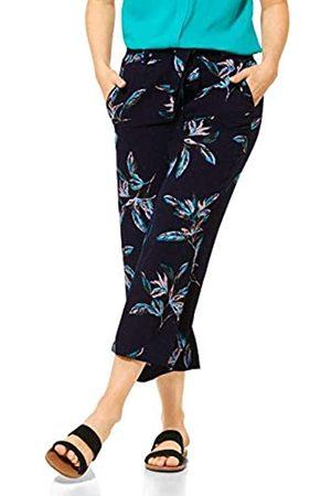 CECIL Damen 373205 TOS Wide Leg Flower Hose