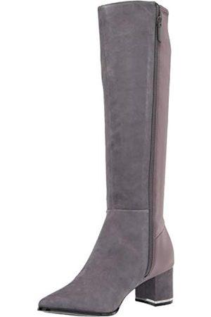 Calvin Klein Damen Freeda Kniehohe Stiefel, (Thunder Grey)