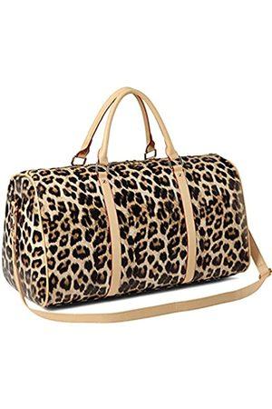 Nabegum Reisetasche für Damen, Leopardenmuster