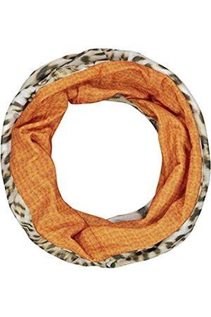 Codello Unisex Damen Mundschutz | Leomuster mit Strickoptik | aus 100% recyceltem Po Loop Schal, Schlauchschal, Stirnband, Maske