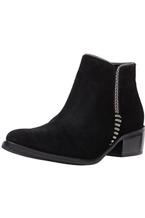 Matisse Women's Merge Ankle Bootie, Black Suede