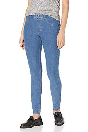 HUE Damen Essential Denim Leggings - Blau - X-Groß