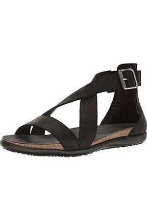 Naot Footwear Women's Rianna Oily Coal Nubuck Sandal