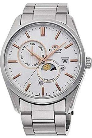 Orient Herren Analog Automatik Uhr mit Edelstahl Armband RA-AK0301S10B