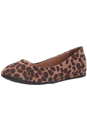 Report Damen Vixon Ballerina flach, (Leopard)