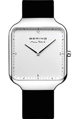 Bering Herren Analog Quartz Uhr mit Silikon Armband 15836-404