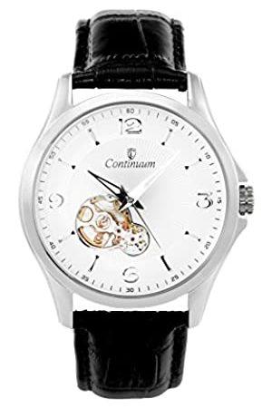 Continuum Herren Analog Automatik Uhr mit Leder Armband C15H26