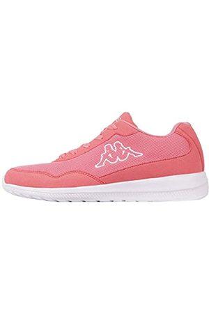 Kappa Unisex Follow Sneaker, (7210 Flamingo/White 7210)