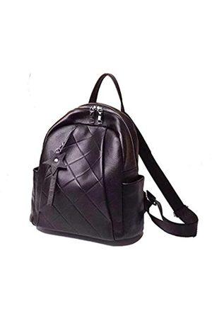 LaRolls Damen Rucksack Premium Leder Tagesrucksäcke Schule Büro Schultertaschen