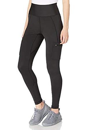 Wrangler Womens CARGO LEGGING Hiking Pants, Black