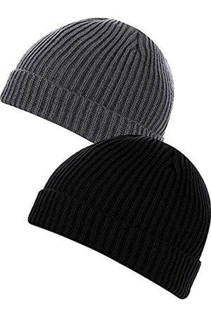 SATINIOR 2 Stück Mütze für Herren und Damen