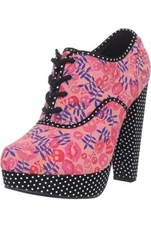 Iron Fist Posey Damen-Schnürschuh, Pink (Rose)