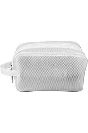 QUALLICO Kulturbeutel aus EVA-Netzstoff, Make-up- und Reisetasche , weich, strapazierfähig, wasserabweisend und leicht zu reinigen für Männer
