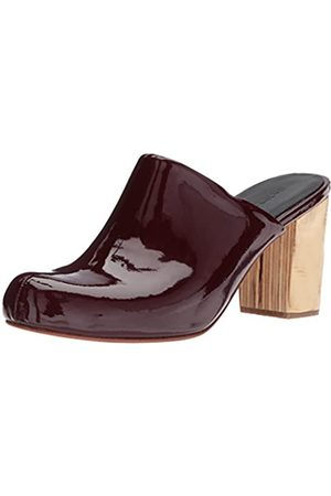 RACHEL COMEY Women's Asher Mule Rosewood patent Leather 6.5 M US