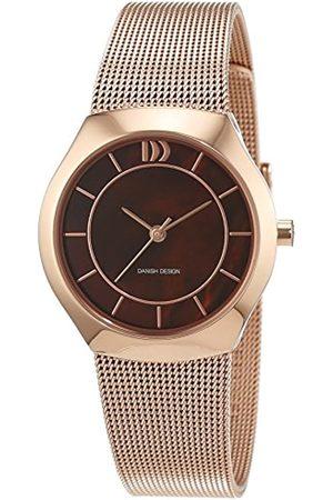 Danish Design Damen-Armbanduhr Analog Quarz Edelstahl beschichtet 3320208