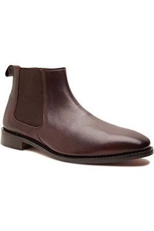 Allonsi | Thomas Herren Echtleder Chelsea Boots | Goodyear Welt Konstruktion | Klassische Chelsea Boots | Ledersohle | Handgefertigte Luxus-Lederschuhe, (Chelsea, .)