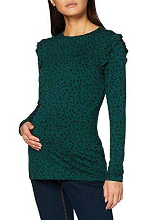 Noppies Damen Tee ls AOP Coventry T-Shirt, Ponderosa Pine-P276