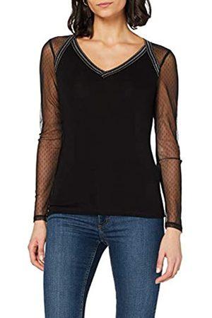 Morgan Damen Longues plumetis Teofil T-Shirt