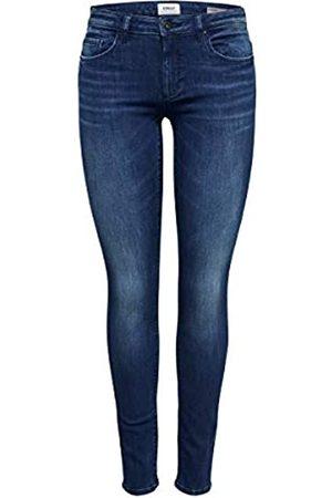 ONLY Damen Onlfcarmen Reg Sk JNS Bb 732Ab Noos Jeans, (Dark Blue Denim)