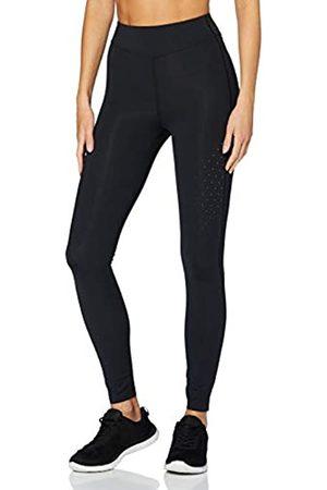 AURIQUE Amazon-Marke: Damen Lauf-Leggings (Black), 34
