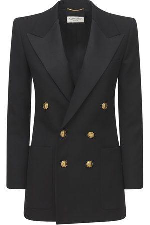Saint Laurent Damen Blazer & Sakkos - Organic Wool Jacket