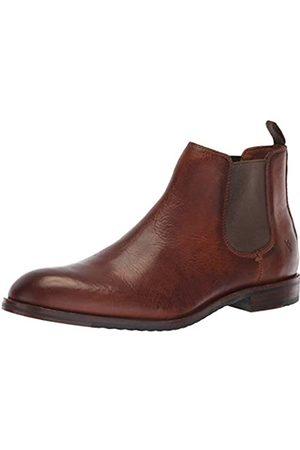Frye Herren Chelsea Boots - Herren Sam Chelsea Stiefel, (cognac)