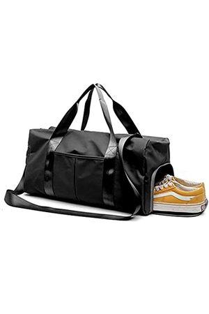 Yugefom Geteilte Sporttasche, Reisetasche, Reisetasche, Reisetasche, Reisetasche, Yoga-Tasche, Reisen, Wochenende, Schultertasche mit Schuhfach