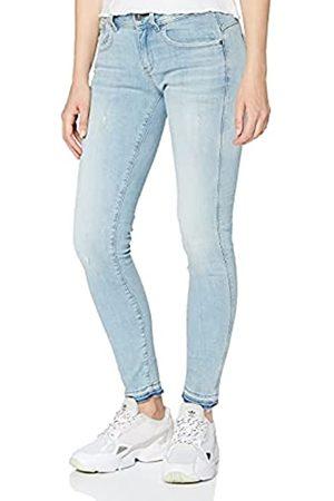 G-Star Damen Jeans Lynn Mid Waist Skinny Ripped Ankle