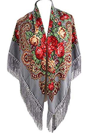 Gudessly Traditioneller ukrainischer Schal mit Fransen