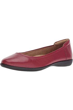 Naturalizer Womens Flexy Ballet Flat, Red