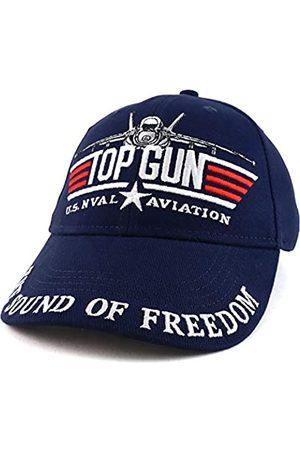 Armycrew US Top Gun Military Aviation Embroidered Adjustable Baseball Cap - - Einheitsgröße