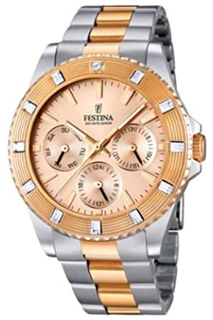 Festina Unisex-Armbanduhr Trend Analog Quarz Edelstahl beschichtet F16695/2