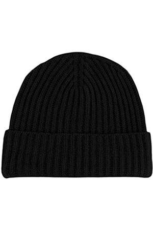 Love Cashmere Damen Beanie-Mütze, gerippt