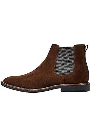 FIND Marsh Herren Chelsea Boots Stiefel, (Chocolate/Black)