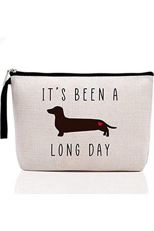 Hanamiya Na Hunde-Liebhaber-GeschenkefürFrauen-BeenaLongDay-LustigeGeburtstagsgeschenkefürFrauenHundMutterLiebhaberLadyAnimalRescueTierrettungVetTech-FunMake-up-Tasche