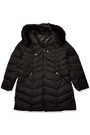 ELIE TAHARI Damen Heavy weight puffer coat with faux fur hood Daunenalternative, Mantel