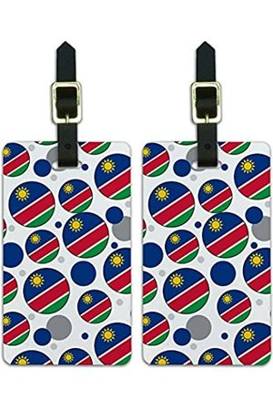 Graphics and More Graphics & More J-n-Namibia Nationalflagge - Luggage.Tags.09645