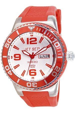 JET SET Unisex-Armbanduhr Wb30 Analog Quarz Kautschuk J55454-05
