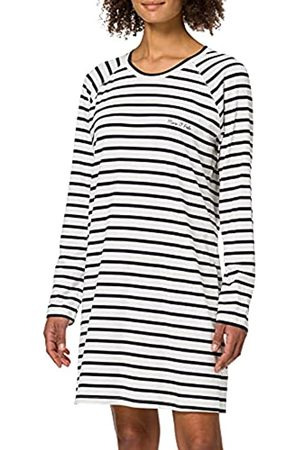 Marc O'Polo Body & Beach Damen Schlafanzüge - Damen W-Sleepshirt LS Crew-Neck Nachthemd
