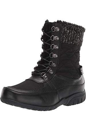 Propet Women's Delaney Frost Snow Boot, Black
