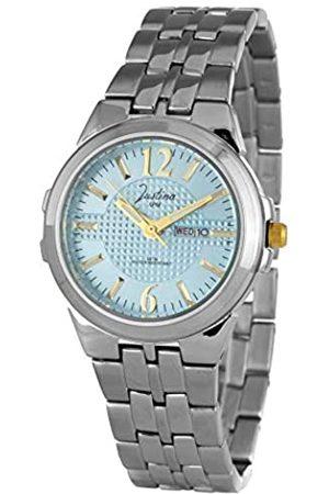JUSTINA Analog Quarz Uhr mit Edelstahl Armband JPB37