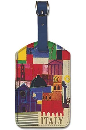 Pacifica Island Art Leatherette Luggage Baggage Tag - Italy by Alerbo Moroni