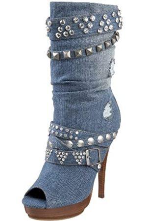 ZIGIny Jagger-Stiefel für Damen, Mehrere (denim)