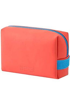 Royall Elite Make-up-Tasche, Organizer, tragbar, groß, Kosmetiktasche, Reisepinselhalter, PU-Handtasche, Reißverschluss