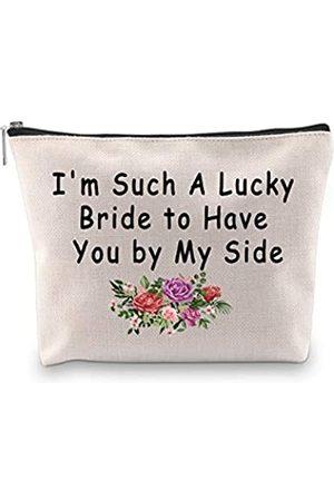 """Generic Kosmetiktasche für Brautjungfern, mit Aufschrift """"Maid Of Honor"""", mit Aufschrift """"I Couldn't Say I Do Without You"""", für Hochzeit"""