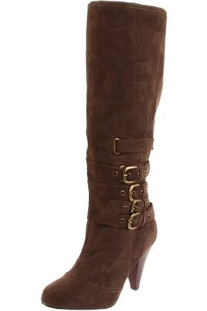 NAUGHTY MONKEY Damen Concur Kniehohe Stiefel, (taupe)