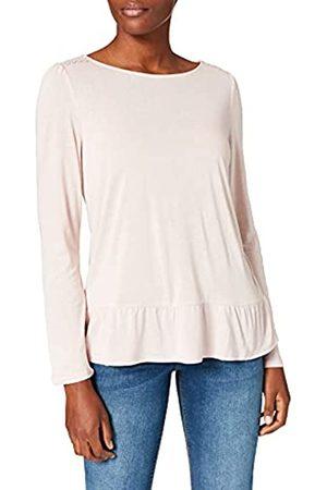 Springfield Damen Camiseta Bajo Volante Unterhemd