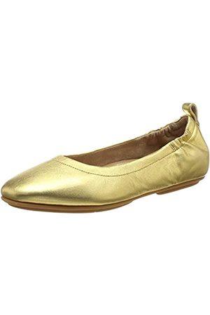FitFlop Damen Allegro Q74 Geschlossene Ballerinas, (Artisan 667)